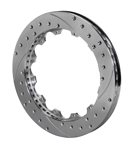 SRP-Z Drilled Rotor - Spec-37 Iron - Zinc Plate