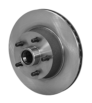 1 PC Hub and Rotor - Iron - Plain