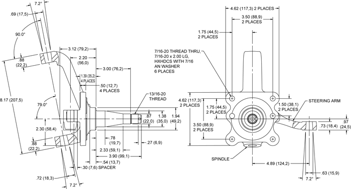 SpindleProd on ford rear axle diagram