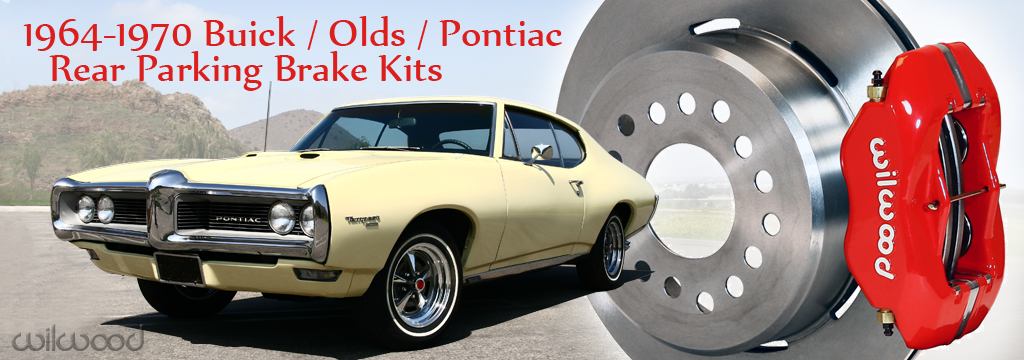 1964-1970 Pontiac-Olds-Buick Rear Parking Brake Kits