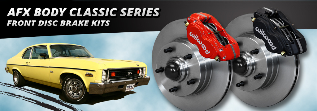 AFX Body Classic Series Front Disc Brake Kits