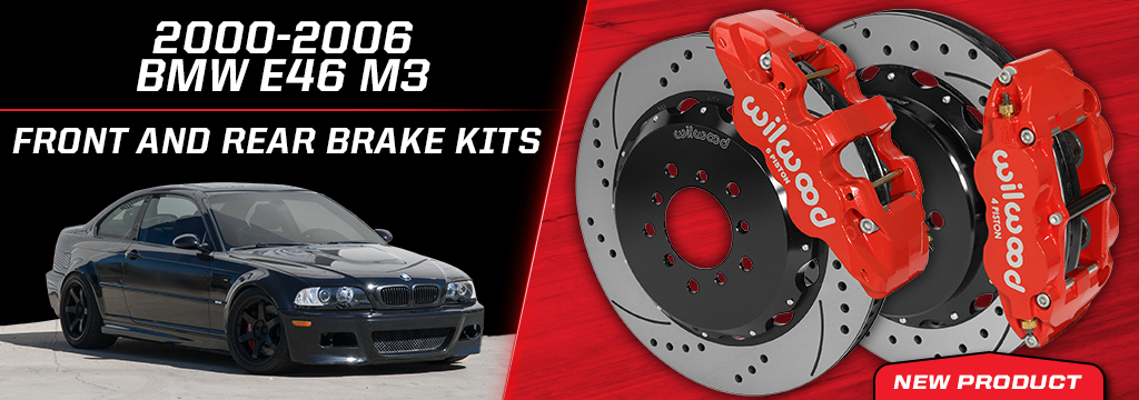 BMW E46 M3 Front and Rear Brake Kits
