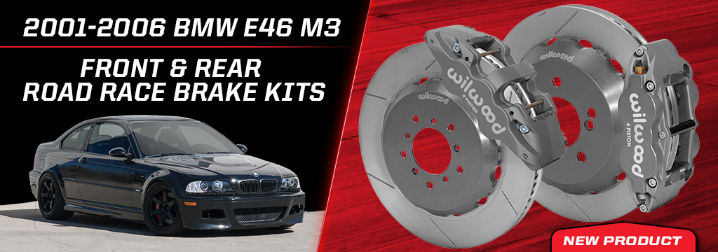 2000-2006 BMW E46-M3 Front/Rear Road Race Kits