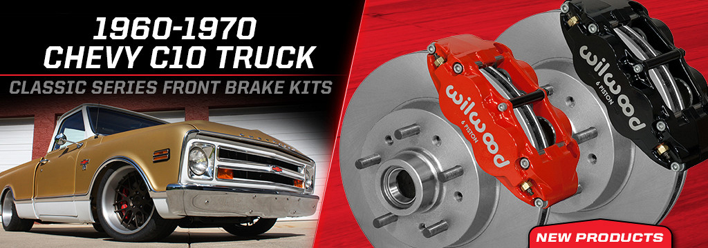 Front 1960-1970 Chevrolet C10 Superlite Classic Series Brake Kits