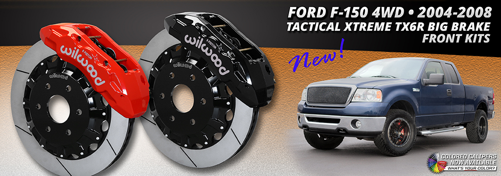 2004-2008 Front Ford F-150 4WD Brake Kits