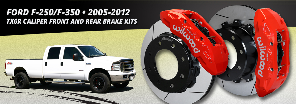 2005-2012 F-250/F-350 TX6R Front and Rear Brake Kits
