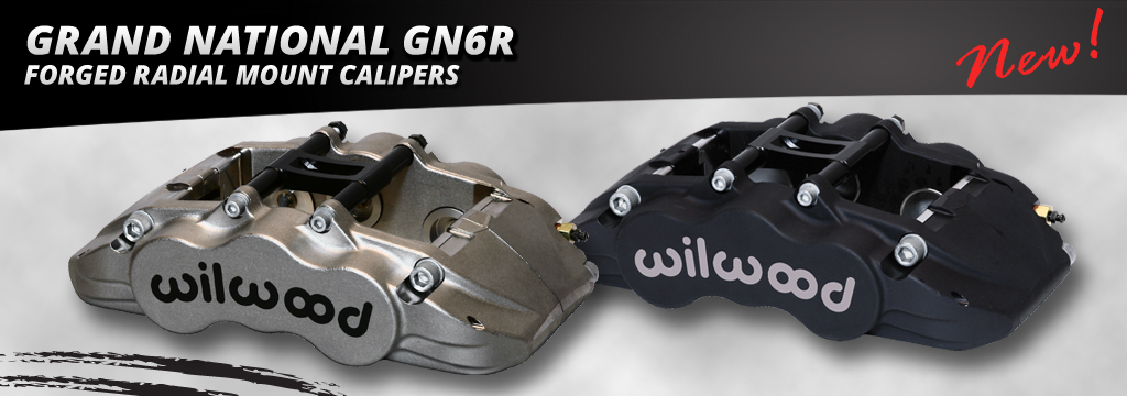 Grand National GN6R Forged Radial Mount Calipers