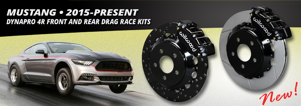 2015-Present Mustang DynaPro 4R Front and Rear Drag Race Kits