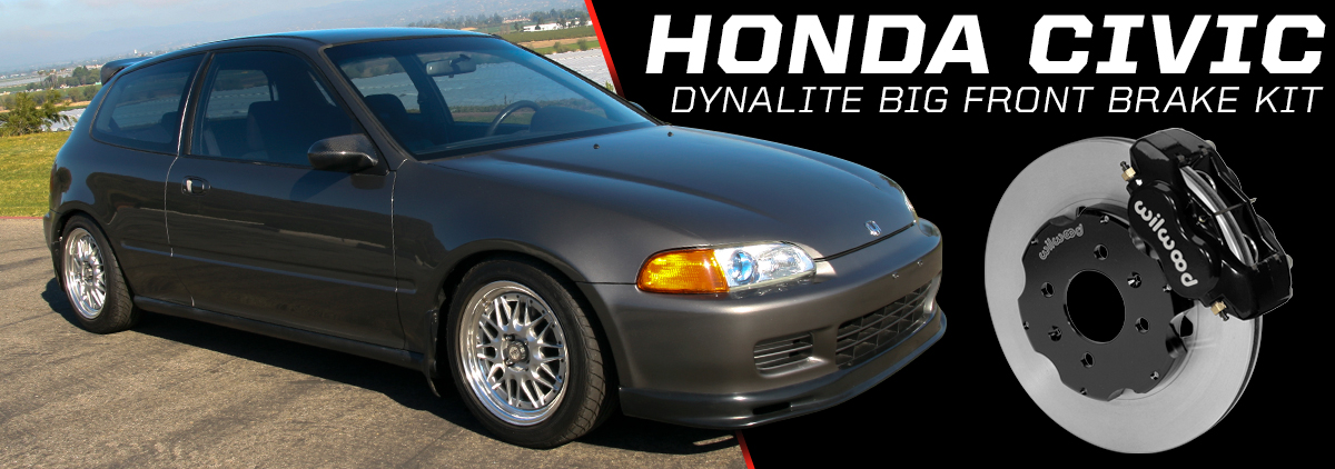 Honda Civic with Wilwood Brakes - Slide 4