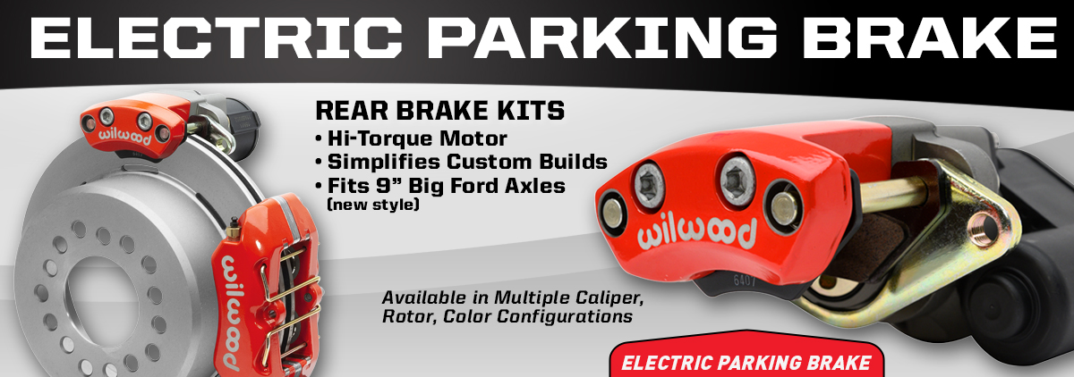 NEW Electronic Parking Brake Kits