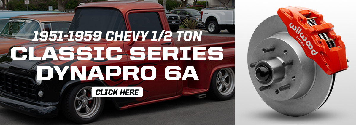 NEW Chevy Half-Ton Classic Series Front Brake Kit