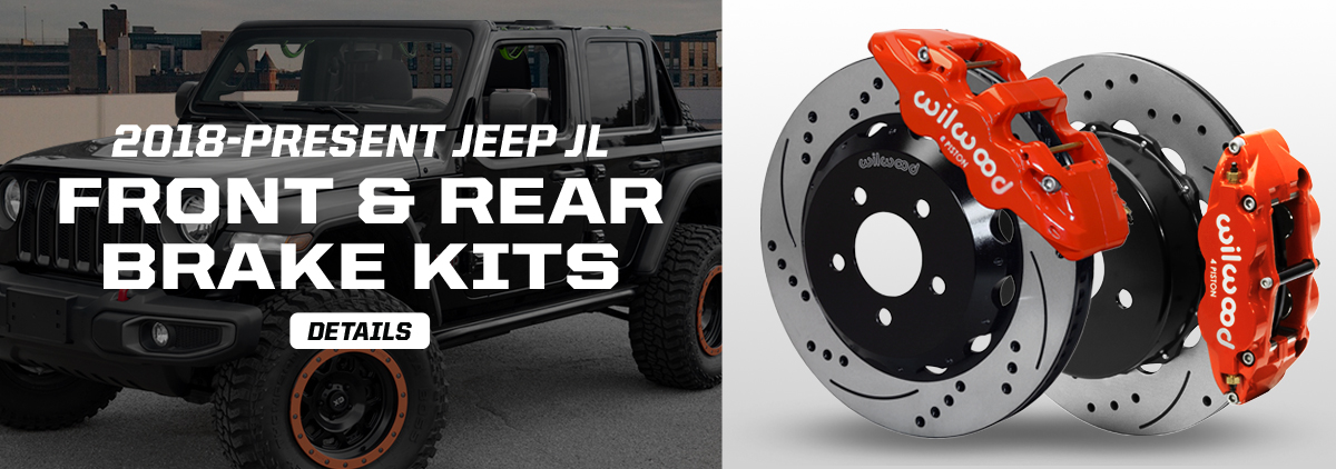 NEW Brake Kits for Front and Rear JEEP JL Models