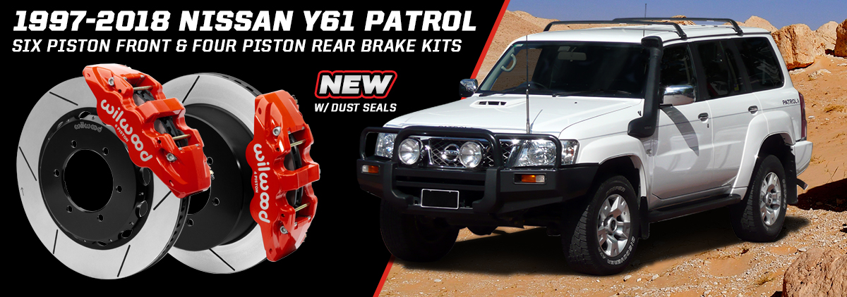 NEW Nissan Y61 Patrol Brake Kits
