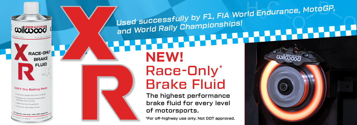 NEW - Wilwood XR Race-Only Brake Fluid