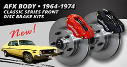 1964 – 1974 GM AFX Body Classic Series Front Brake Kits