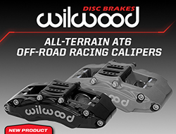 Wilwood Disc Brakes Introduces New All-Terrain AT6 Off-Road Racing Calipers