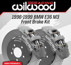 Wilwood Disc Brakes Announces New BMW E36 M3 Front Road Racing Brake Kit