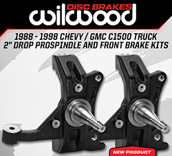 "Wilwood Disc Brakes Announces New C1500 2.00"" Drop ProSpindles and Disc Brake Kits"