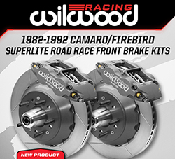Wilwood Disc Brakes Announces New Road Race Brake Kits for 3rd Generation Camaros and Firebirds