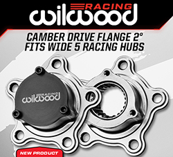 Wilwood Disc Brakes Announces New Camber Drive Flange