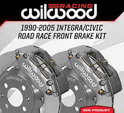 Wilwood Disc Brakes Announces New Front Road Race Brake Kits for the Acura Integra and Honda Civic