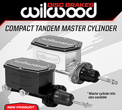Wilwood Disc Brakes Announces New Compact Tandem Master Cylinder