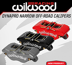Wilwood Disc Brakes Announces New DynaPro Narrow Off-Road Caliper