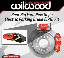 Wilwood Disc Brakes Announces New Rear Disc Brake Kits with Electric Parking Brake (EPB)