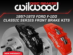 Wilwood Disc Brakes Releases New Front Brake Kits for 1957-1972 Ford F-100
