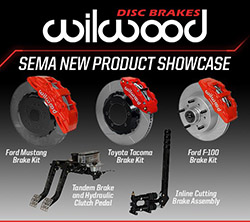 Wilwood Unveils 5 Products for SEMA 2017 New Product Showcase.