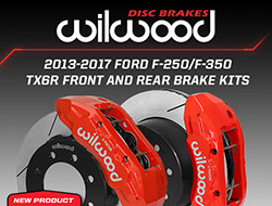 Wilwood Disc Brake's Introduces New Ford F-250/F-350 Truck Brake Kit Upgrades