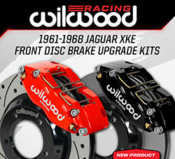 Wilwood Disc Brakes Announces New Front Disc Brake Upgrade kits for the 1961-1968 Jaguar XKE
