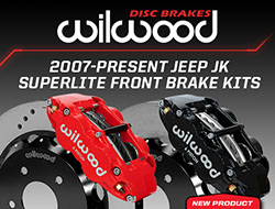 Wilwood Disc Brakes Introduces New Superlite 6R Calipers for the Jeep JK