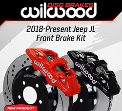 Wilwood Disc Brakes Announces New Jeep JL Front Brake Kit Upgrades