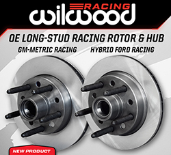 Wilwood Disc Brakes Announces New OE Replacement Long-Stud Racing Rotors