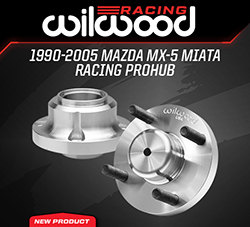 Wilwood Disc Brakes Announces New Forged Aluminum Racing ProHubs for the Mazda MX-5 Miata