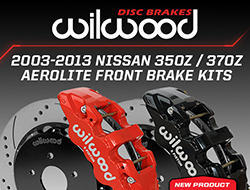 Wilwood Disc Brakes Announces New Front Upgrade Brake Kits for the Nissan 350Z / 370Z