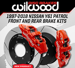 Wilwood Disc Brakes Announces New Front and Rear Brake Kits for the Nissan Y61 Patrol