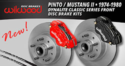 Pinto / Mustang II Classic Series Front Brake Kits
