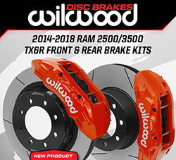 Wilwood Disc Brakes Announces New 2014-2018 RAM Truck Front and Rear Brake Kit Upgrades