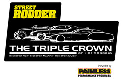 Sponsorship for Street Rodder Triple Crown of Rodding Competition