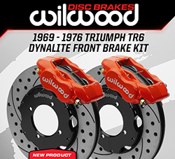 Wilwood Disc Brakes Announces New 1969-1976 Triumph TR6 Front Brake Kit Upgrades
