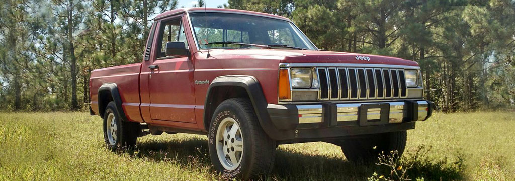 Wilwood - Jeep Comanche Disc Brakes